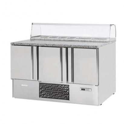 01353-Mesón Refrigerado MRF Pizza Granito